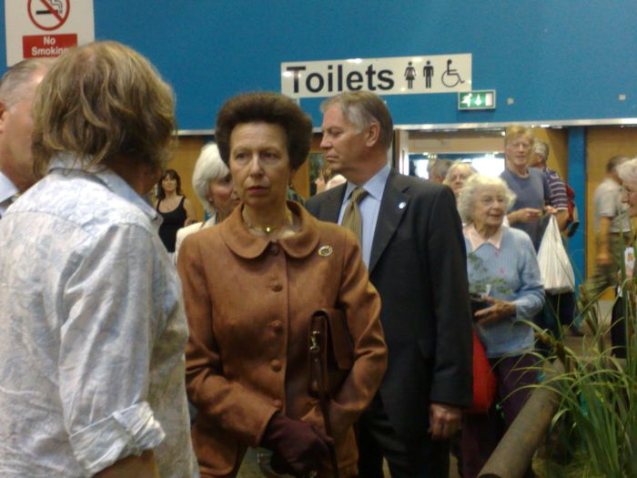 Even Princess Anne was there !
