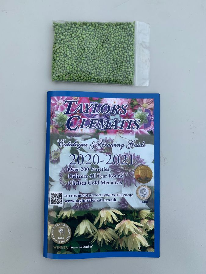 Taylors Clematis 2020 /2021 Catalogue and feed