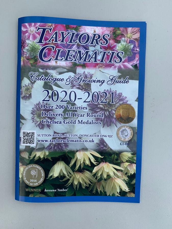 Taylors Clematis 2020 /2021 Catalogue