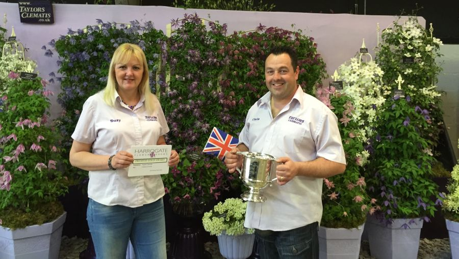 Chris and Suzy, Taylors Clematis Display Team